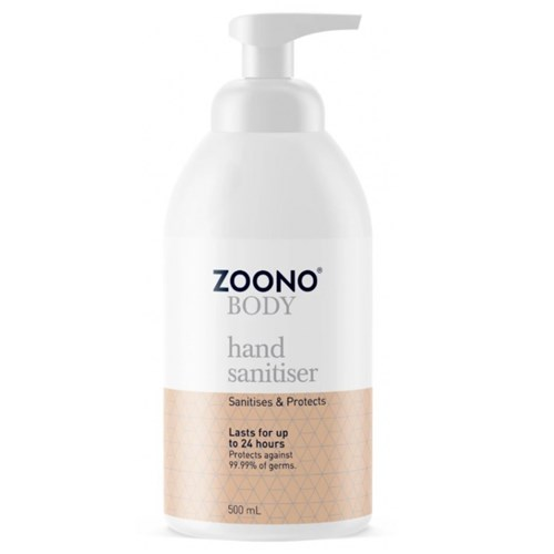 Zoono Germfree 24-hour Hand Sanitiser Virus Protector 500ml