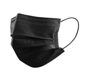 Premium Black 3ply Face Masks (pack of 50)